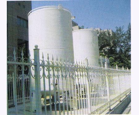中心供氧站:液氧罐
